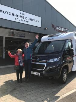 It was an absolute delight to welcome Mr and Mrs Bryan's to The Motorhome Company
